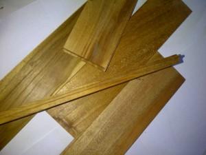 Lantai Kayu Mini Flooring Jati